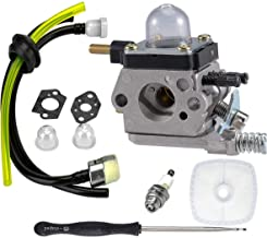 LEIMO C1U-K82 C1U-K54A Carburetor, for 2-Cycle Mantis 7222 7222E 7222M 7225 7230 7234 7240 7920 7924 Tiller/Cultivator Carb with Air Filter Repower Kit