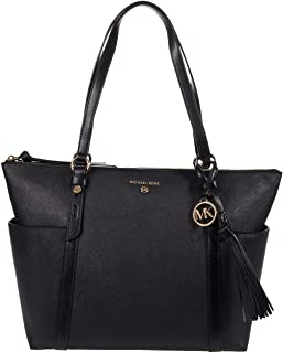 MICHAEL Michael Kors Nomad Large Top Zip Tote Black One Size