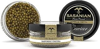 GUARANTEED OVERNIGHT! Fresh Imperial Golden Osetra Caviar - Malossol 2 Oz