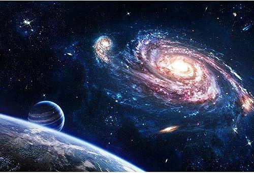 precios mas bajos Puzzle House- Basswood Rompecabezas, Galaxy Universe Cosmos Space Space Space Stars Nebula Art Painting, Cut & Fit, 300 500 1000 1500 Piezas Caja de Madera Puzzles Juguetes Juego Arte para Adultos y Niños  nueva marca