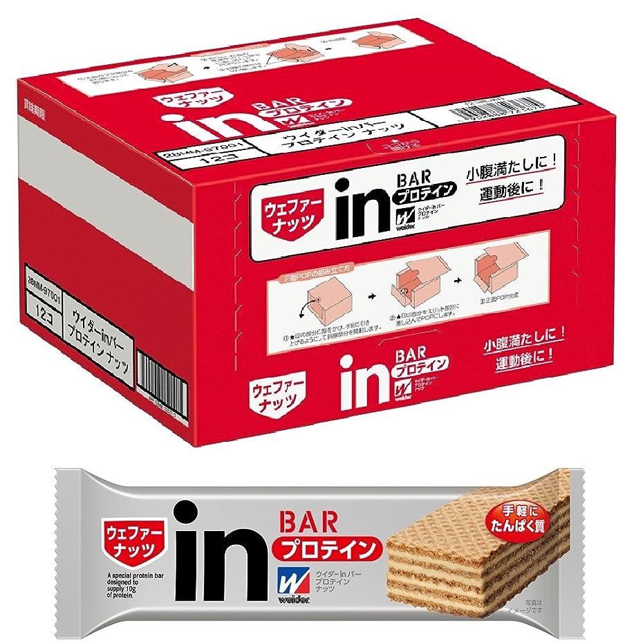 東方締め切り色ウイダーinバー プロテイン ナッツ (12本入×1箱)