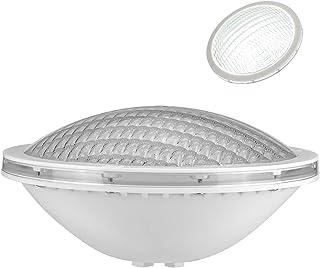 LyLmLe LED Piscina PAR56,18W Foco Piscina de LED Sumergible Iluminación LED Empotrados,Impermeable IP68,12V DC/AC,6000K Blanca Fría