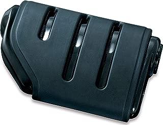 Kuryakyn 7567 Motorcycle Footpegs: Premium Trident Dually ISO Pegs without Adapters, Gloss Black, 1 Pair