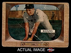 1955 Bowman # 10 Phil Rizzuto New York Yankees (Baseball Card) Dean's Cards 1 - POOR Yankees