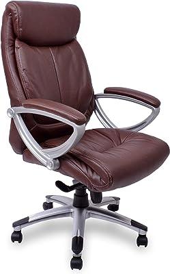 SONGMICS Silla ergonómica de oficina estudio con ruedas ...