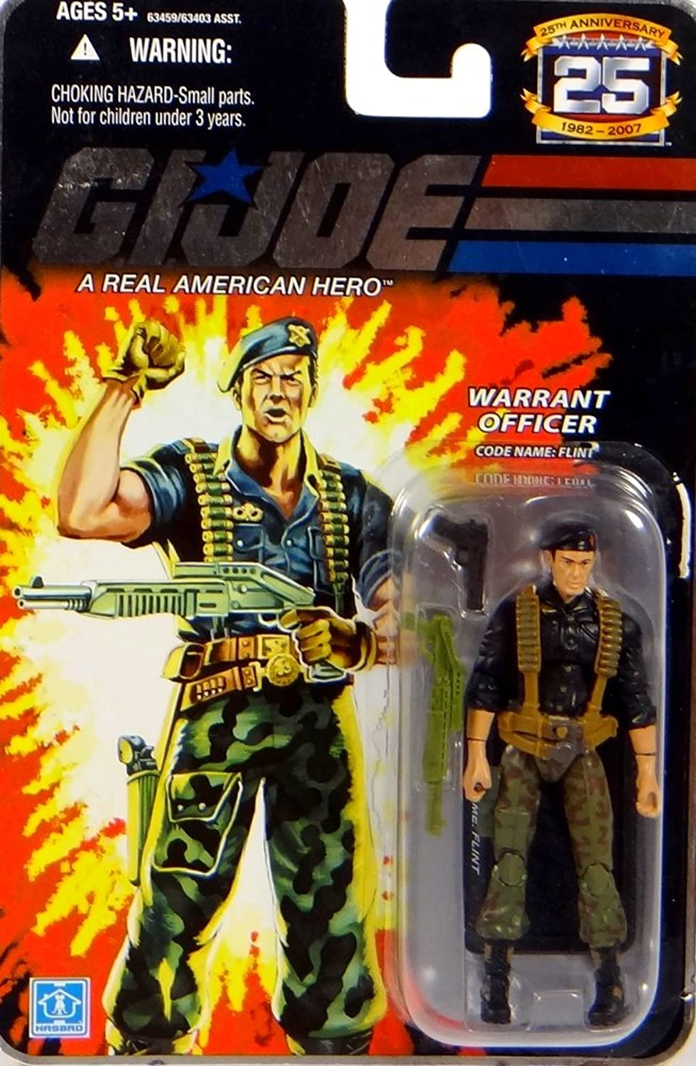 G.I. Joe Warrant Officer Codename  Flint - 25th Anniversay Actionfigure 2008 von Hasbro