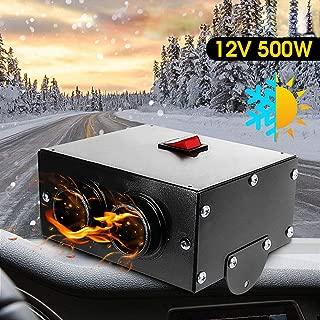 Best 12v 500w car heater Reviews