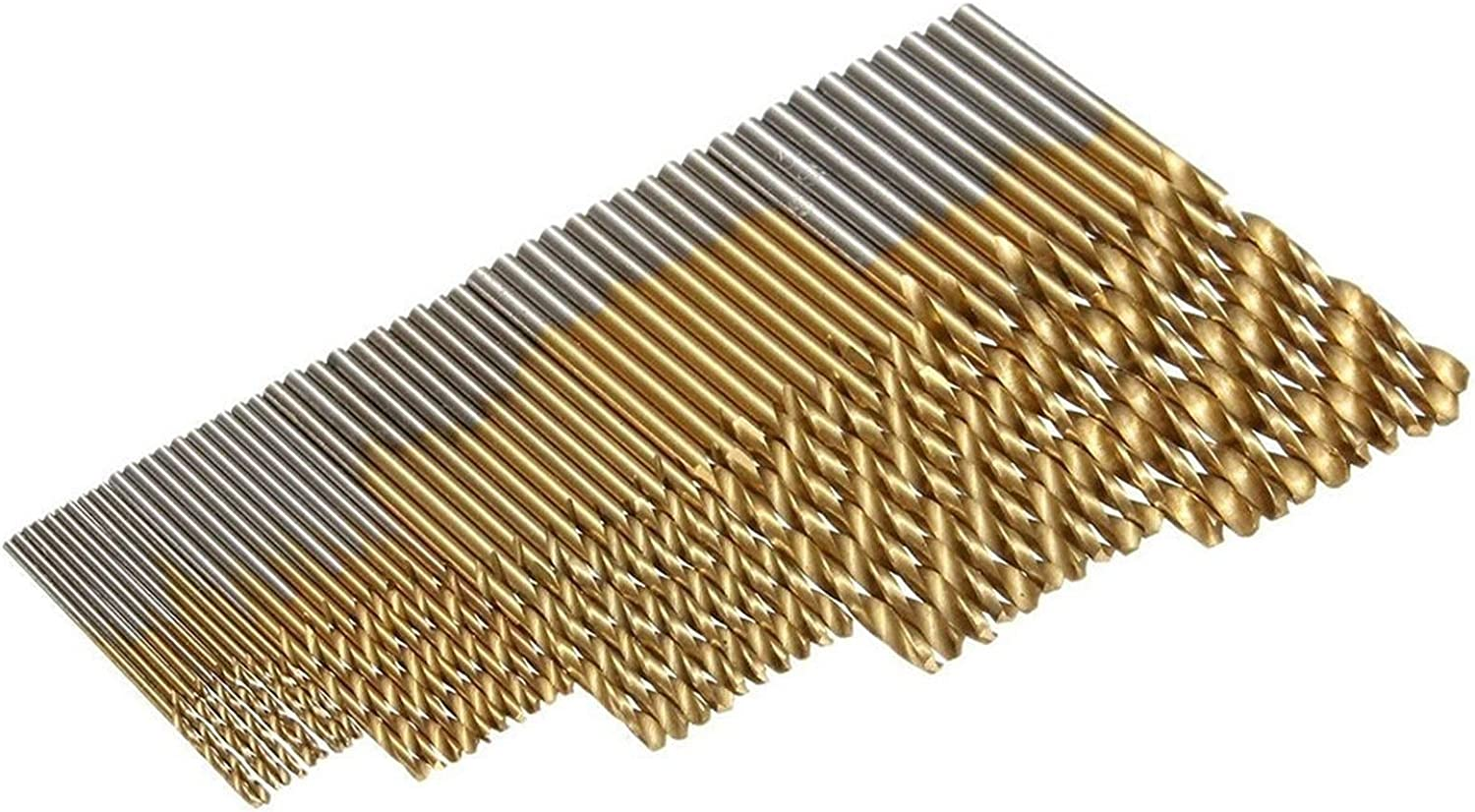 MOUNTAIN MEN Durable Very popular! 50pcs High Speed Steel 1.5 Twist Directly managed store 1.0 Drill