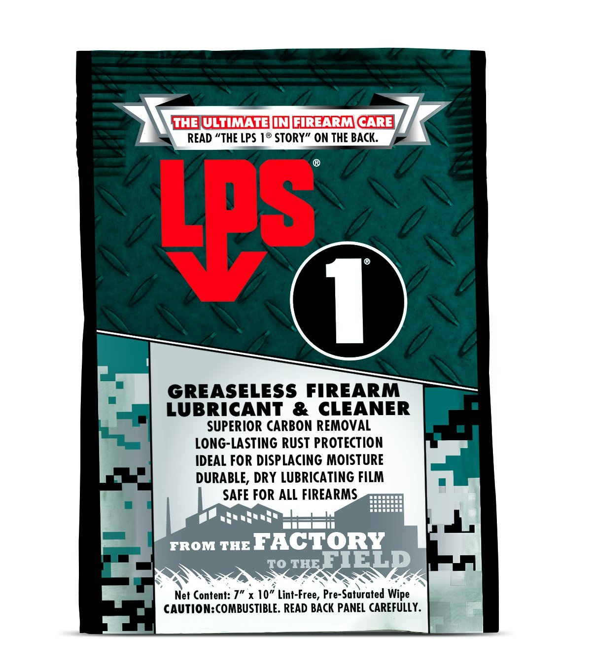 LPS 1 Firearm Lubricant Houston Mall Pack of quality assurance 144 Cleaner