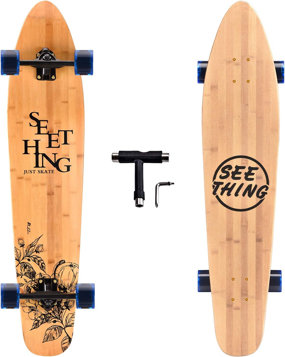 Seething 42-Inch Longboard Skateboard