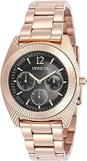 Invicta 23751 Angel Women's Wrist Watch Stainless Steel Quartz Grey Dial
