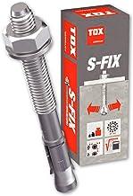TOX S-Fix Plus 1, 8x70, boutanker verzinkt optie 1, ankerbouten, zware pluggen, pluggen, betonanker, beton (8x70 - 100 stuks)