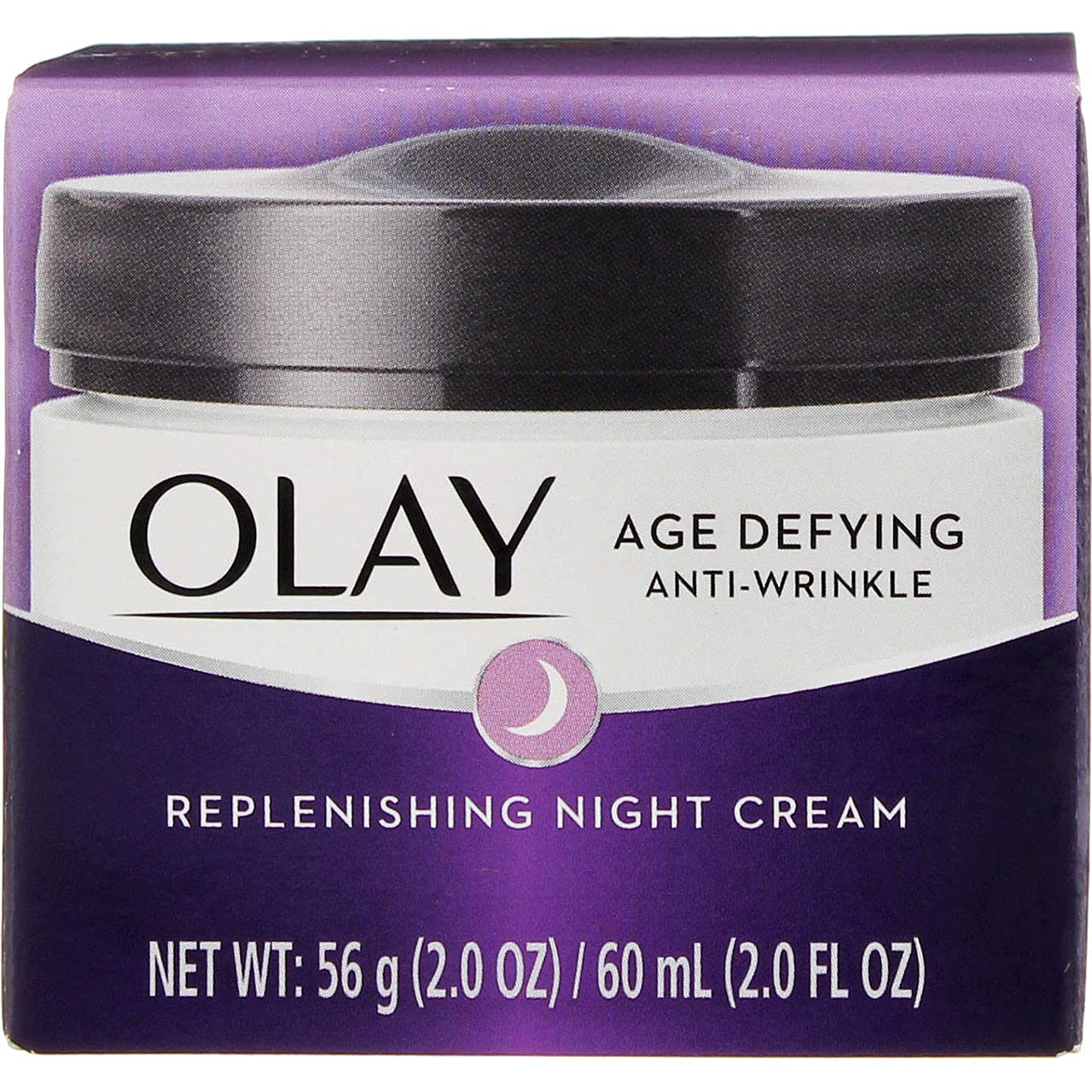 Omaha Mall OLAY Age Defying excellence Anti-Wrinkle Replenishing Night Cream 2 oz Pac