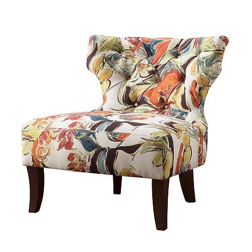 Incredible Multicolor Accent Chair Amazon Com Inzonedesignstudio Interior Chair Design Inzonedesignstudiocom