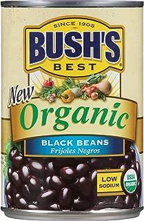 Bush's Best Organic Black Beans, 15 oz (12 cans)