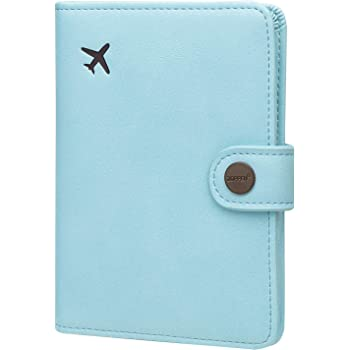 Passport Holder Cover Pack Vacation Tourism Mobiles Symbol Stylish Pu Leather Travel Accessories Cool Passport Case For Women Men