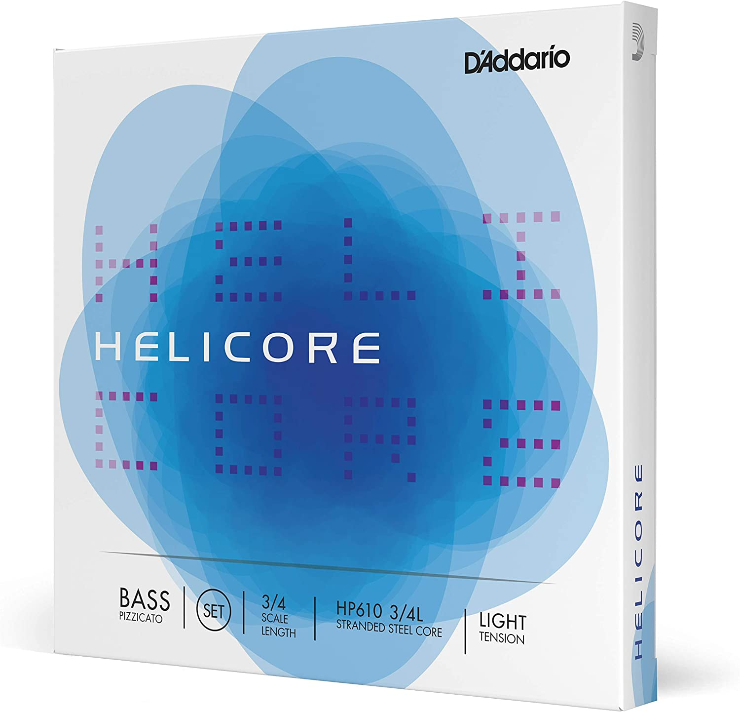 D'Addario Helicore Pizzicato Bass String Set Light 3 T 4 Scale New product Max 77% OFF type