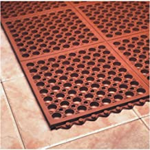 product image for SuperMats Grease and Oil Resistant Ergonomic Interlocking Mat