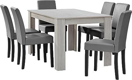 Amazon.fr : Gris - Tables / Salle à manger : Cuisine & Maison