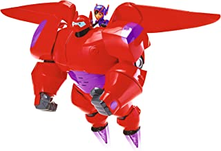 Big Hero 6:The Series Flame Blast Flying Baymax Kids Toy Action Figure Baymax Toy Fist Rocket Fires