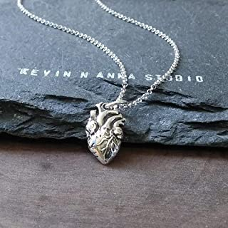 Best heart necklace anatomically correct Reviews