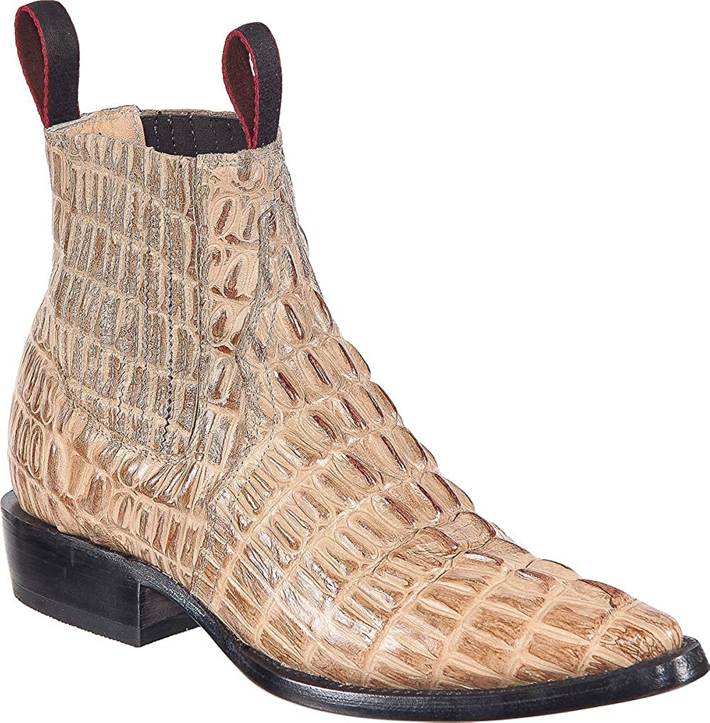 Western Shops Mens Leather Popular Max 60% OFF shop is the lowest price challenge Cowboy Prin Crocodile Boots Alligator