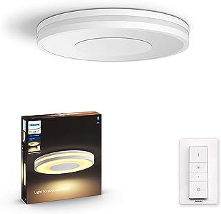 Philips Hue Being plafondlamp - Duurzame LED Verlichting - Warm tot Koelwit Licht - Incl. dimmer switch - Dimbaar - Verbin...