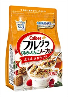 カルビー フルグラ くるみ&りんごメープル味 700g×6袋