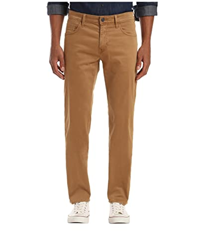 Mavi Jeans Zach Straight Leg (Brown Sateen) Men