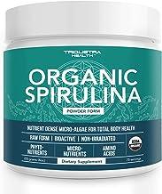 Organic Spirulina Powder: 4 Organic Certifications - Certified Organic by USDA, Ecocert, Naturland & OCIA - Vegan Farming ...