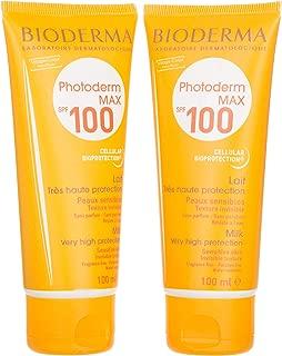 Bioderma Photoderm Max Spf 100 Lait Cream Set Of 2, 100 Ml