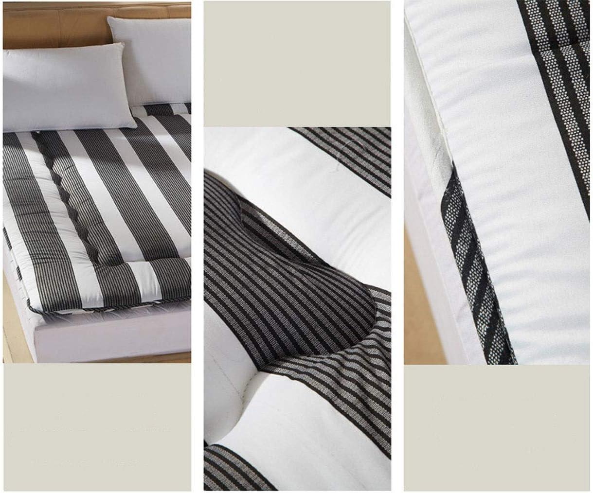 HMDJW Futon Tatami Cushion Matelas, Tapis de Sol, Surmatelas Coussin (Color : B120*200cm) A180*200 Cm