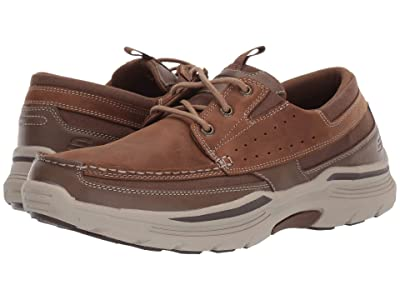 SKECHERS Relaxed Fit Expended Menson (Desert Brown) Men