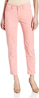 NYDJ Women's Petite Alisha Fitted Ankle Marigold Jeans