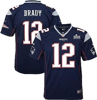 VF Tom Brady New England Patriots Youth Super Bowl LIII Game Jersey