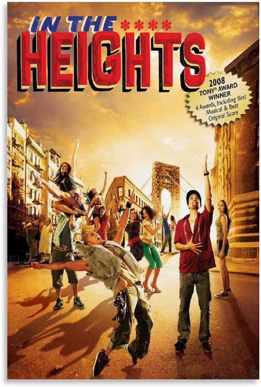 WEGWE in The NEW before selling ☆ Heights Movie Decorative Can Painting Poster All items the store