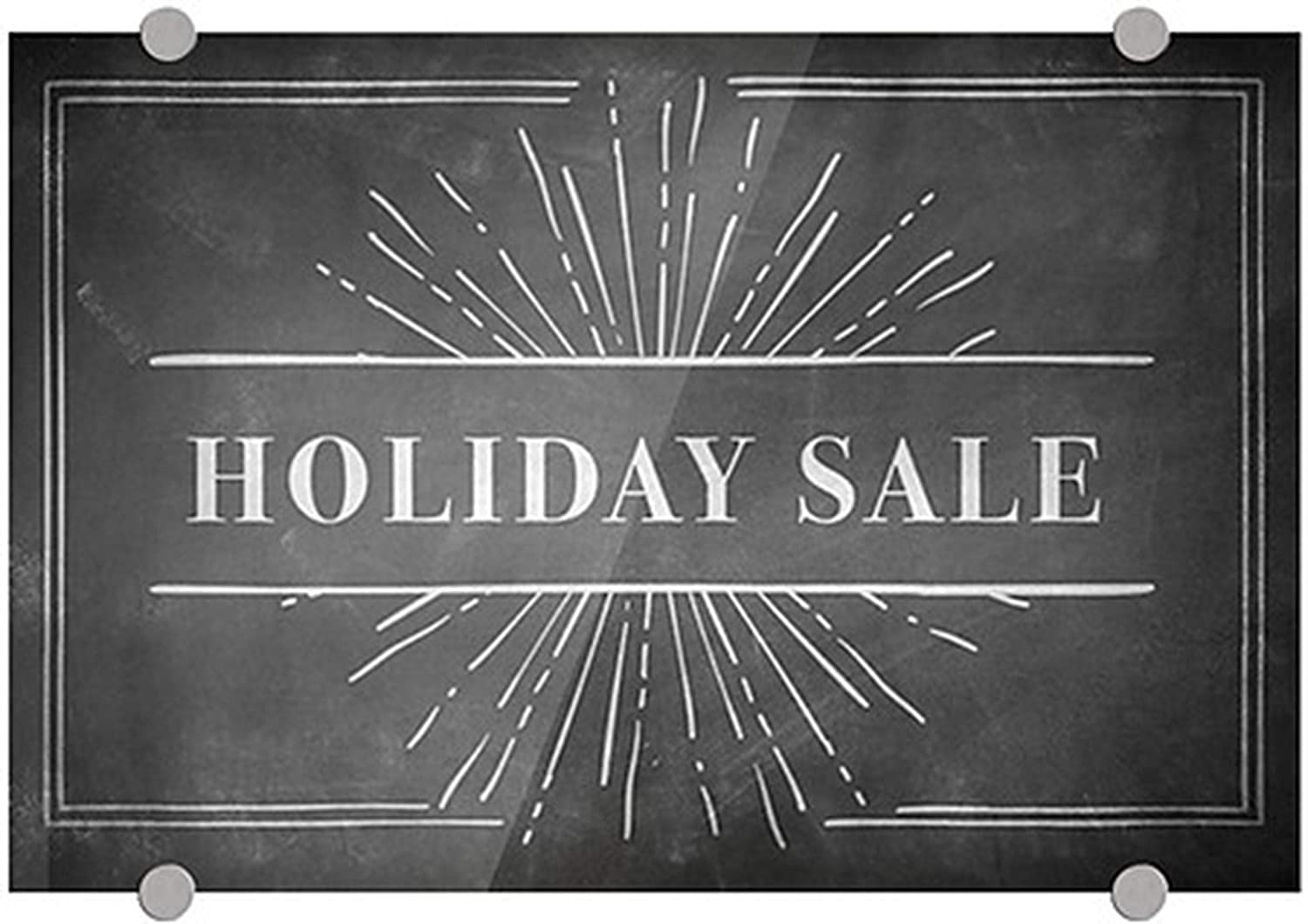 Challenge the lowest price of Japan ☆ CGSignLab 2455157_5absw_18x12_None Holiday Sale Free shipping on posting reviews Chalk 8 1 Burst