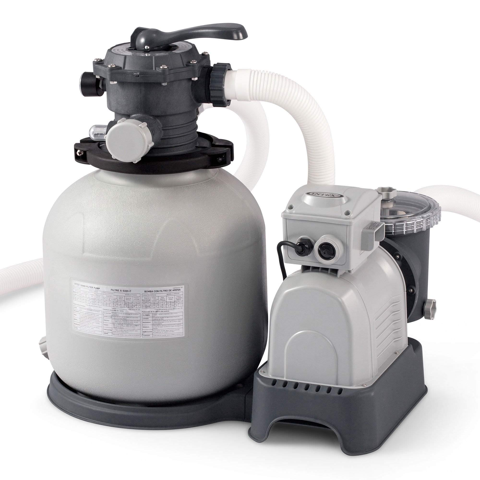Intex 000 Gallon Sand Filter Pump