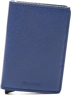 SECRID Mens Slim-wallet Crisple Blue
