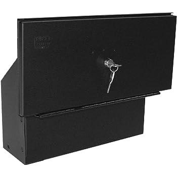 Toyota Tacoma Truck Bed Security Lockbox, Black