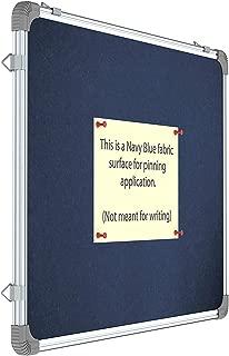 Gadgets Appliances School Pin-up Board Durable, Lightweight Aluminium Frame, 2 feet × 3 feet, Blue (Pack of 1)