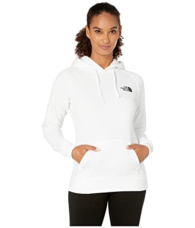 The North Face Red Box Pullover Hoodie (TNF White/TNF Black) Women