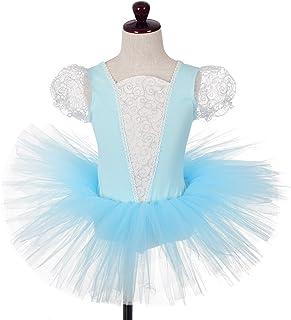 Dressy Daisy 女童灰姑娘芭蕾舞短裙舞蹈服紧身裙