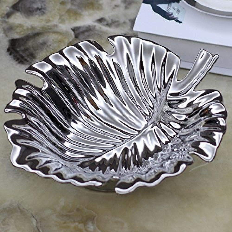 Zhanan Table de Salon Bijoux Décoration Fruits Assiette de Fruits en céramique créative Accessoires de