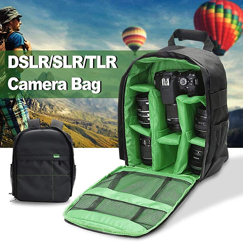 Kindsells Waterproof Camera Bag Backpack Shoulder Case for DSLR SLR Camera Cases