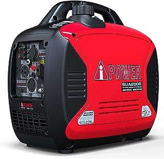 A-iPower SUA2000iV Ultra-Quiet 2000-Watt Portable Inverter Generator CARB/EPA Compliant, 2000 Watt, RV Ready