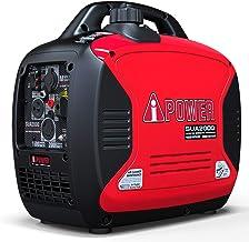 A-iPower SUA2000iV Ultra-Quiet 2000-Watt Portable Inverter Generator CARB/EPA Compliant,..