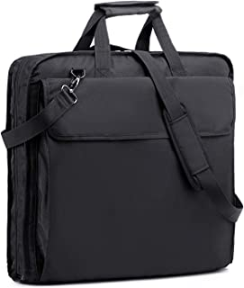 Garment Bag Suit Travel Bag with Shoulder Strap for Travel Business Trips,Carry On Bag for Suits Shirts Dresses