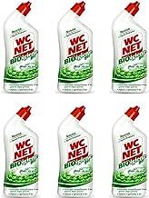Lot de 6 nettoyants Bio-hygiène en gel WC pour les sanitaires de la salle de bain WCNet Bio hygiène