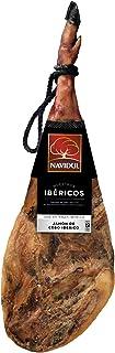 Navidul Jamón de Cebo Ibérico, Jamonero y Cuchillo - 8.25 kg